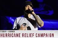 Eminem, risultati della raccolta fondi per gli uragani