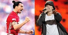 Zlatan Ibrahimović inserisce Eminem nella sua playlist