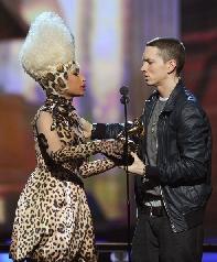 Nicki Minaj vuole collaborare con Eminem e Dr. Dre