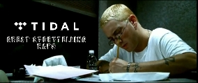 "Tidal inserisce Eminem nella playlist  ""Great Storytelling of All Time"""