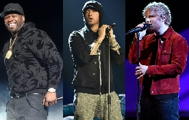Trapelato uno snippet di Remember The Name di Eminem, Ed Sheeran e 50 Cent