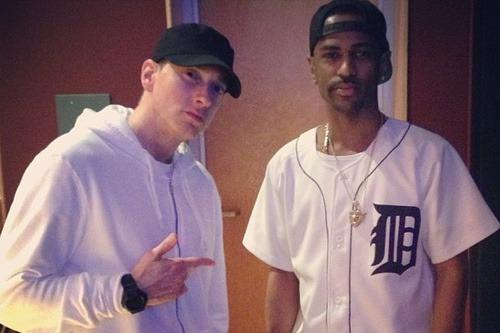 eminem big sean, eminem no favors